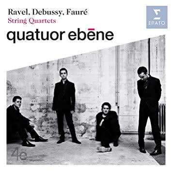 Debussy / Ravel / Fauré: Quartetos de Cordas // Quartetos Ébène & Budapest