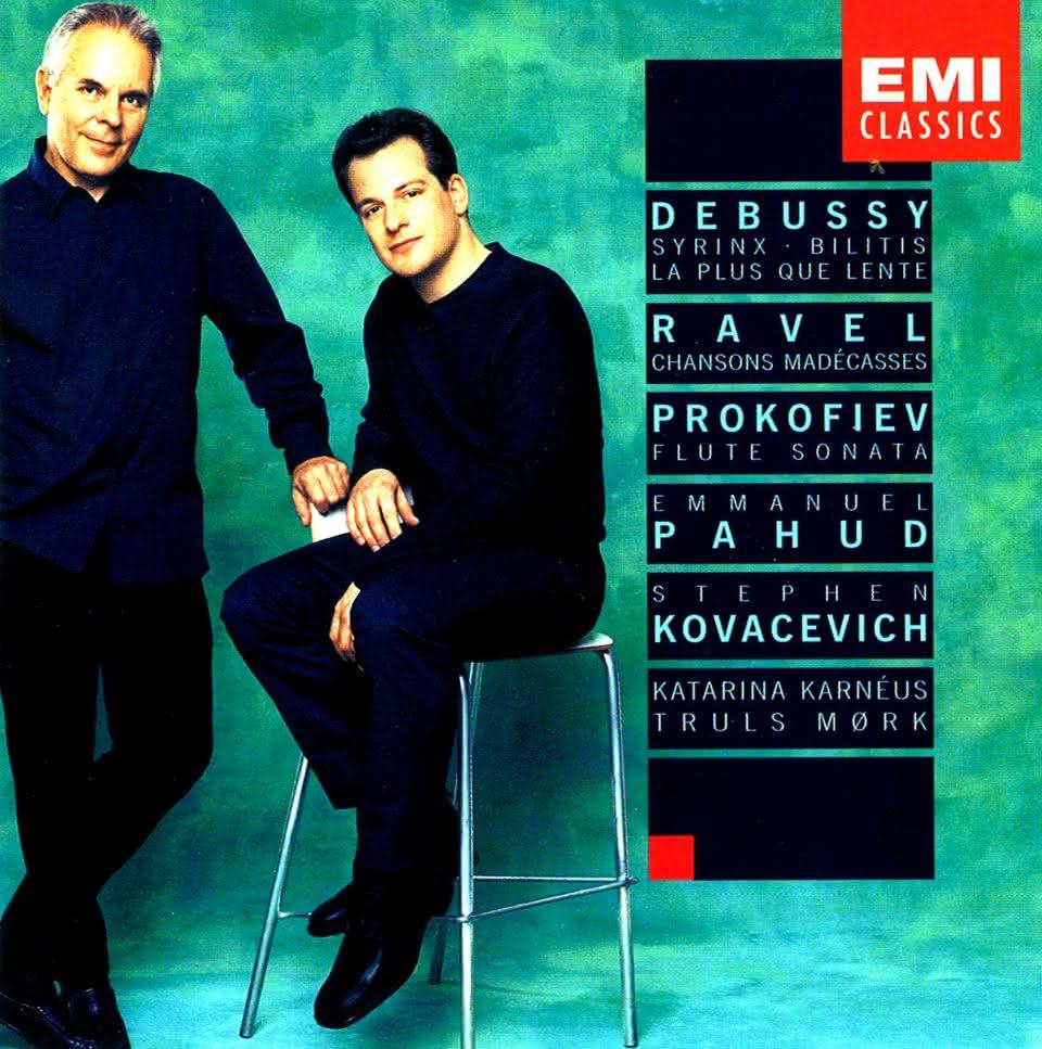 Debussy / Ravel / Prokofiev: Peças para Flauta e Piano – Emmanuel Pahud & Stephen Kovacevich
