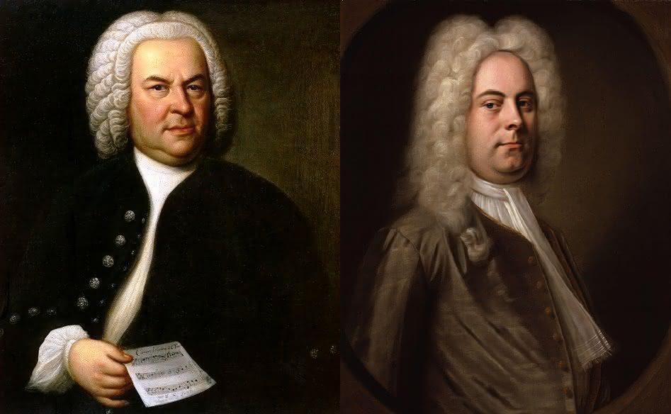 J. S. Bach (1685-1750): Concerto para Oboé / Cantata BWV 202 & G. F. Händel (1685-1759): Concerto Nº 1 para Harpa / Cantata Tra Le Fiamme, HWV 170