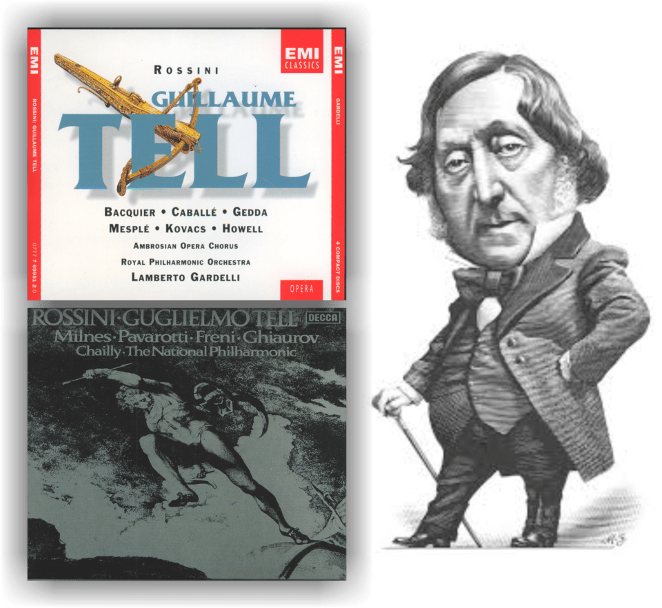 Gioachino Rossini (1792-1868): Guilherme Tell (Guillaume Tell) – Ópera em quatro atos