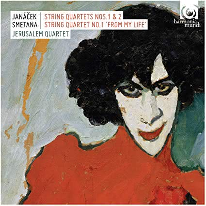 Smetana (1824-1884) & Janaček (1854-1928): Quartetos de Cordas – Jerusalem Quartet
