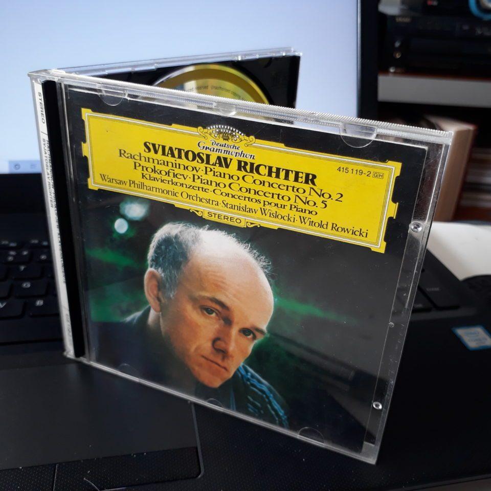 Rachmaninov (1873-1943): Concerto para Piano No. 2 – Prokofiev (1891-1953): Concerto para Piano No. 5 – Sviatoslav Richter