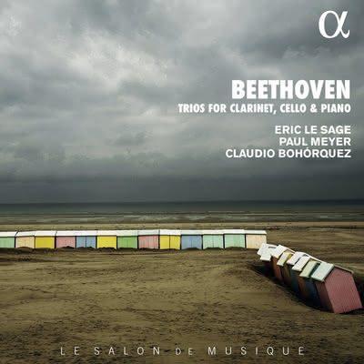 Beethoven (1770-1827): Trios com clarinete ∞ Eric Le Sage – Paul Meyer – Claudio Bohórquez ֍ BTHVN250