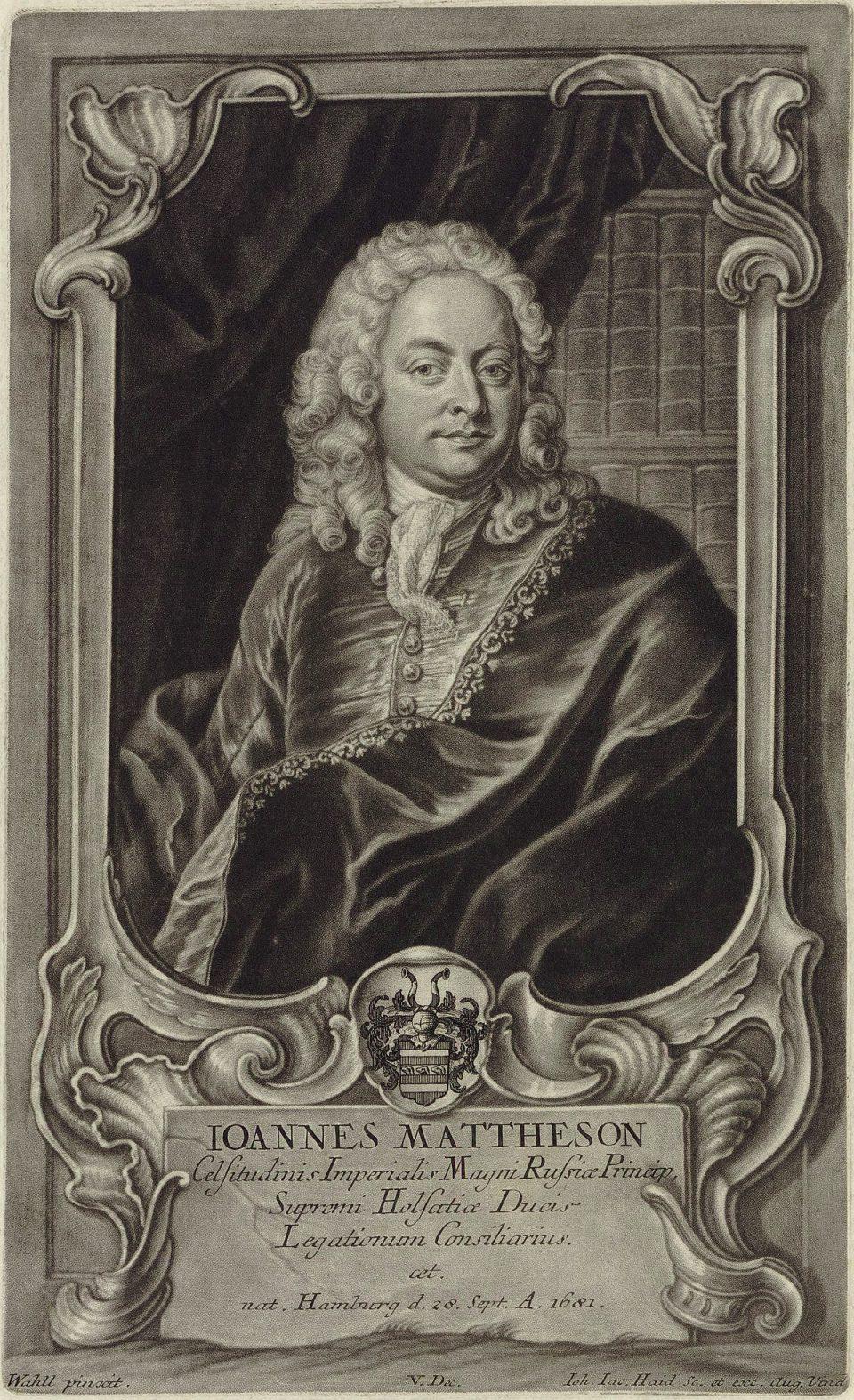 Johann Mattheson (1681-1764): Der Brauchbare Virtuoso (Baroni-Valetti-Skalka-Börner)