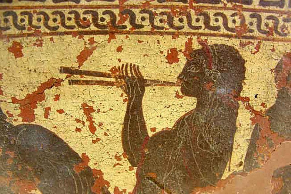 Conrad Steinmann (1951): Música da Grécia Antiga (Melpomen)