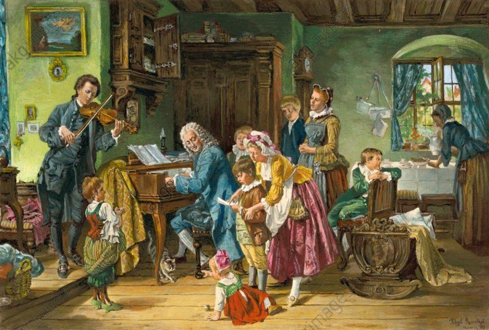 J. S. Bach (1685-1750): Transcrições para violino e órgão (Paulet / Geiger)