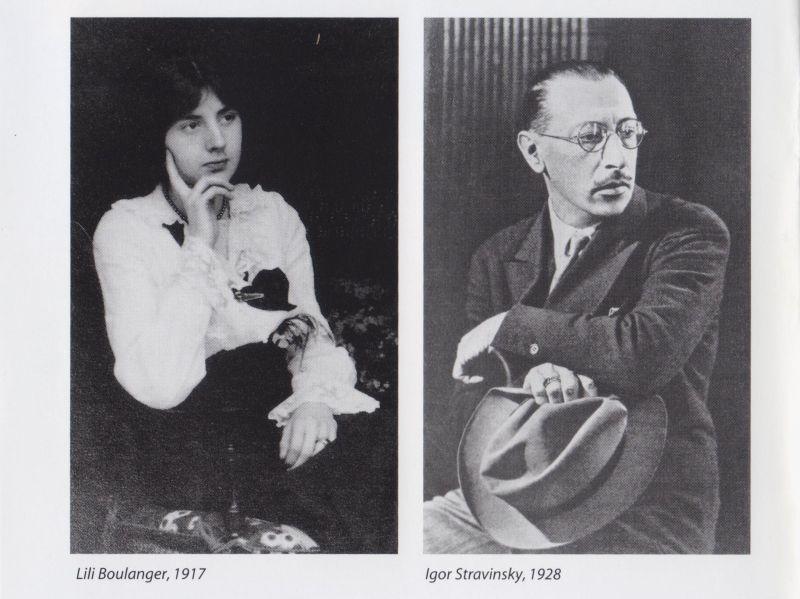 Lili Boulanger (1893-1918): Psalms 24, 129 & 130 · Vieille Prière bouddhique | Igor Stravinsky (1882-1971): Symphony of Psalms (Gardiner)